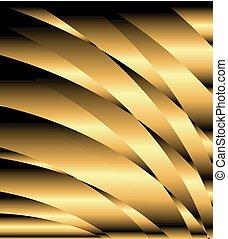 金, 抽象的, 背景