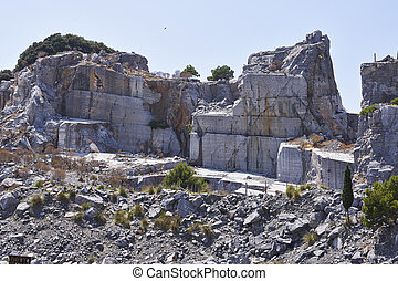 金, 採石場, 黒い大理石