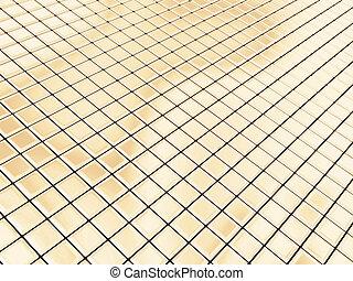 金, 正方形