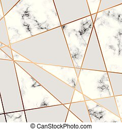 金, 現代, 手ざわり, 贅沢, ライン, ベクトル, デザイン, 大理石模様にすること, 背景, 大理石, 黒, 白, 幾何学的, 表面