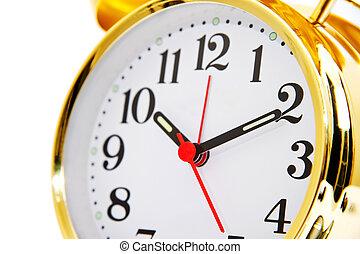 金, 目覚し 時計