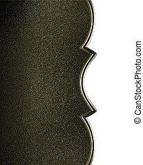 金, 站點,  cutout, 黑色, 背景, 設計, 樣板