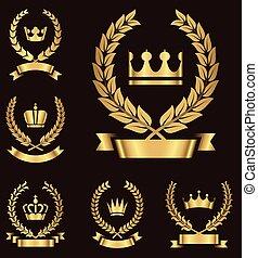 金, 紋章学, 紋章