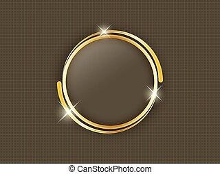 金, 背景。, 正文, 空間, 黑暗, 中間, 戒指