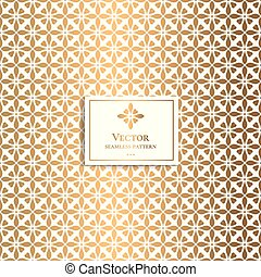 金, pattern., vintage., 交差点, hearts., 定型, 幾何学的, 最小である
