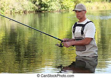 釣り, 人