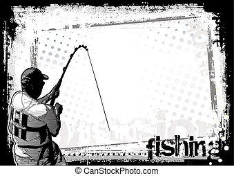 釣り, 背景