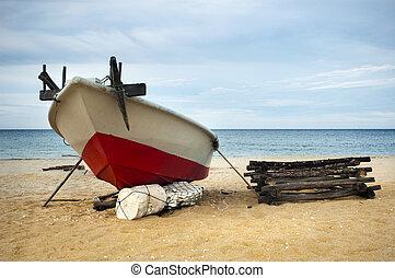 釣り, boat.