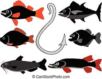 釣り, motives