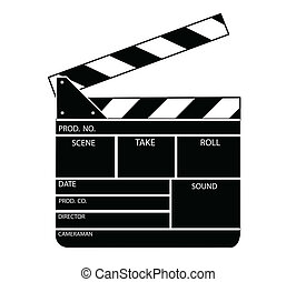 鈴舌, 電影, 矢量, 板
