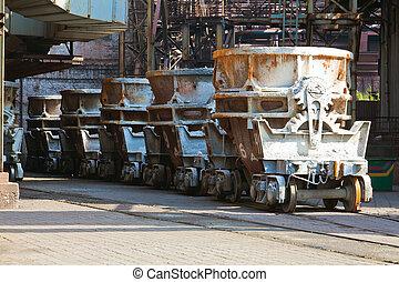 鉄道, 金属, 容器, 液体
