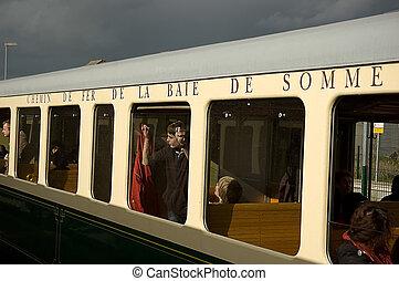 """鉄道, somme"""", 古い, """"baie, de"""