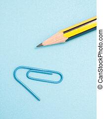 鉛筆, クリップ