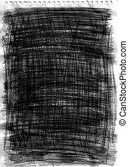 鉛筆, 作られた, グラファイト, 手ざわり, 手