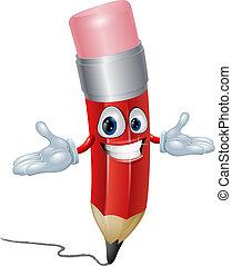 鉛筆, 特徴, 漫画