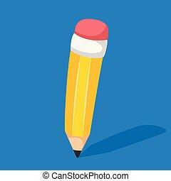 鉛筆, 矢量, 插圖