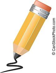 鉛筆, imple, 図画