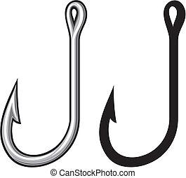 鉤, 釣魚