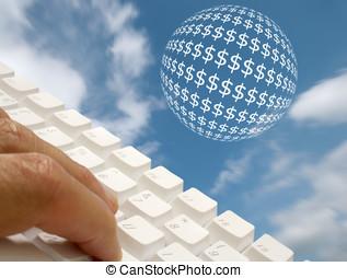 銀行業務, 網際網路