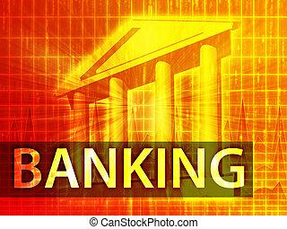 銀行業, イラスト