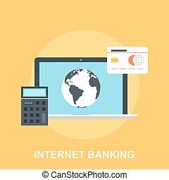 銀行業, インターネット