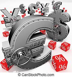 銀行業, 堆積