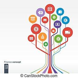 銀行業, 概念, 成長, 木