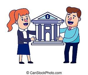 銀行業, 計画, 財政, チームワーク