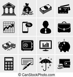 銀行業, 金融, アイコン