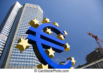銀行, ヨーロッパ, 中央である
