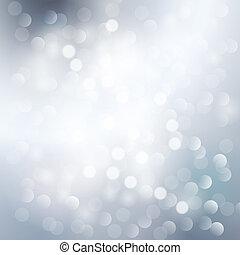 銀, ライト, 背景