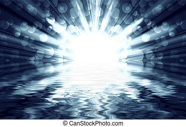 銀, 光, 聚光燈