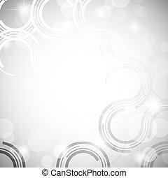 銀, 抽象的, 背景