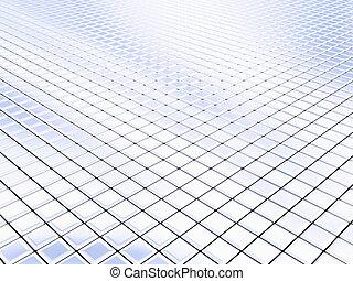 銀, 正方形