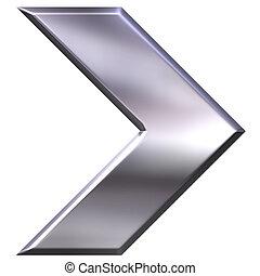 銀, 矢, 3d