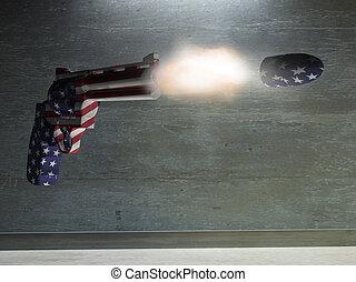 銃, アメリカ