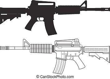 銃, 襲撃, アメリカ人