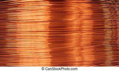 銅線, 電気である