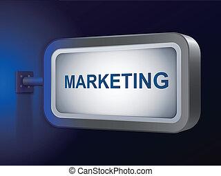 銷售, 詞, 上, 廣告欄
