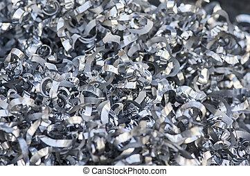 鋁, 碎片