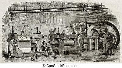 鋳物工場, bis