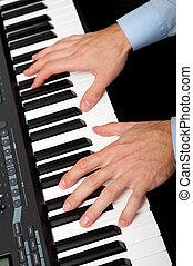 鋼琴 演奏, 手