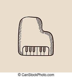 鋼琴, 略述, icon.