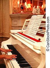 鋼琴, 盛大