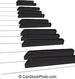 鋼琴, 背景