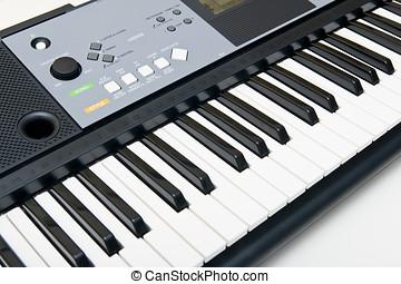 鋼琴, 電子的鍵盤