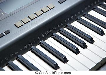 鋼琴, 電子, keyboard(part)