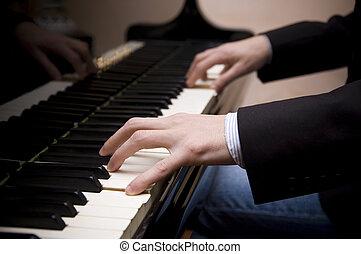 鋼琴, 音樂家