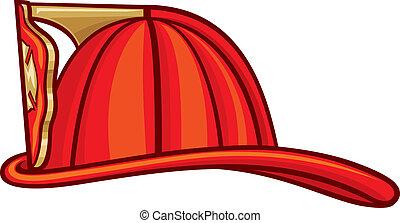 鋼盔, 消防人員