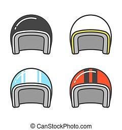 鋼盔, 集合, 摩托車